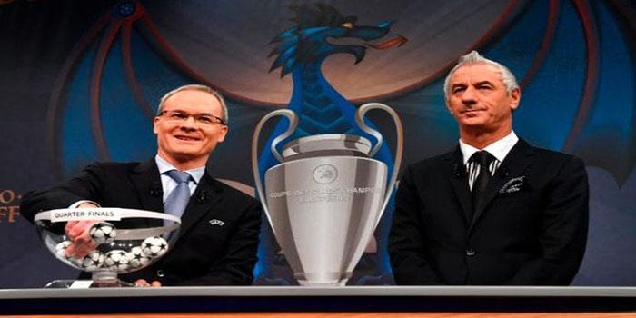OrijoReporter.com, UEFA Champions League & Europa quarter final draws
