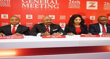 Shareholders approve Zenith Bank's N63.4bn Dividend