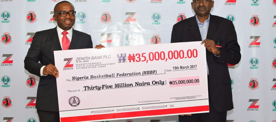 Zenith uses N35M to sponsor Basketball League