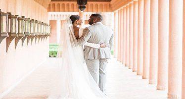 Agbani Darego marries Theophilus Danjuma's son, Ishaya, in Morocco