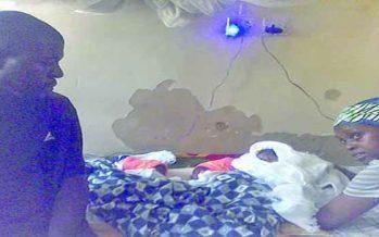 Newborn quadruplets detained over hospital bill