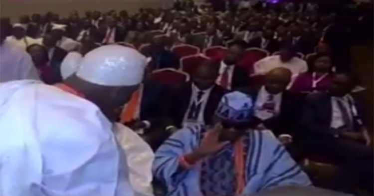 OrijoReporter.com, Video of Akiolu snubbing Ooni