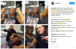 OrijoReporter.com, Charly Boy pierces his sexual organ