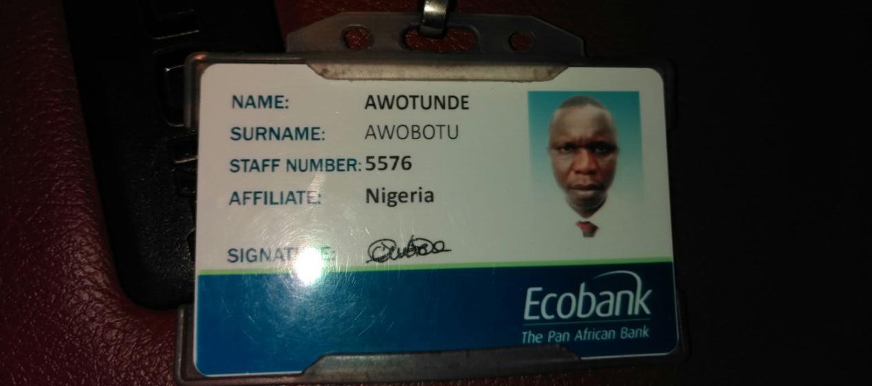 OrijoReporter.com, Ecobank driver arrested