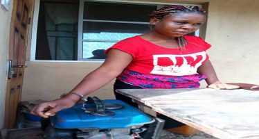 Husband chains wife to generator from night till morning