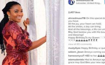 Unveiling Ahmed Musa's 'new wife'