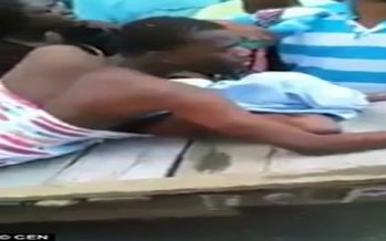 Video: Married woman and her boyfriend get stuck together during sex , carried to hospital on stretcher