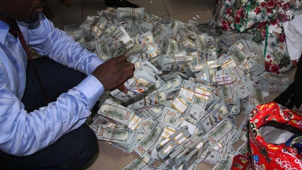 OrijoReporter.com, money found in Ikoyi building