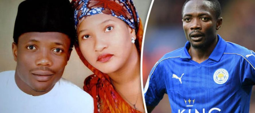 Ahmed Musa reportedly divorces wife, sets to unveil new spouse