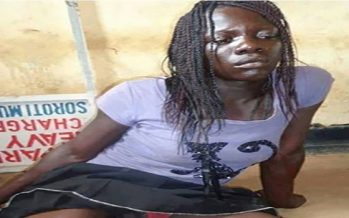 Man posing as woman in beer parlour arrested