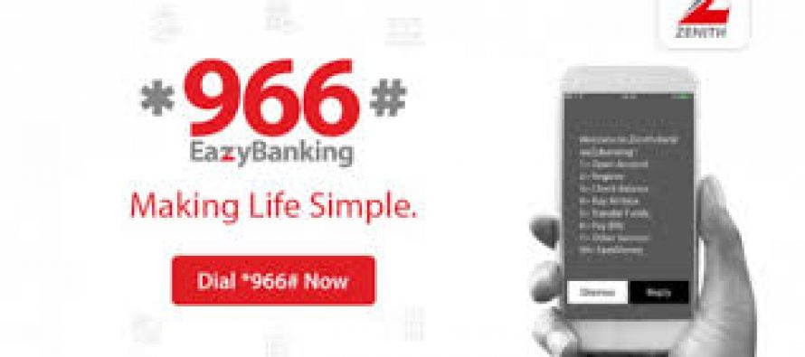 Zenith Bank rewards *966# easybanking customers in airtime giveaway promo