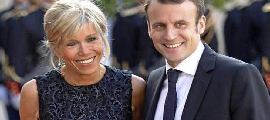Newly elected French President is married to his ex-teacher who is 25 years older than him