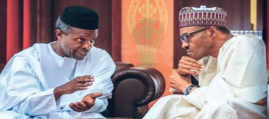 Buhari's controversial letter shows President does not trust Osinbajo – Group
