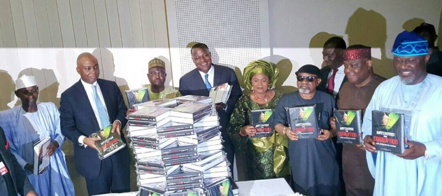 EFCC shuns launching of Dino Melaye's book on anti-corruption as  Patience Jonathan attends