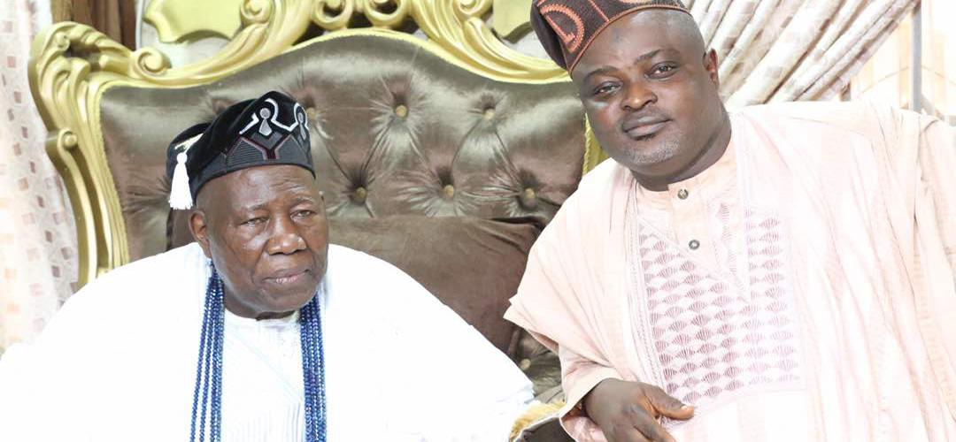 OrijoReporter.com, Lagos Speaker Obasa Visits Olubadan