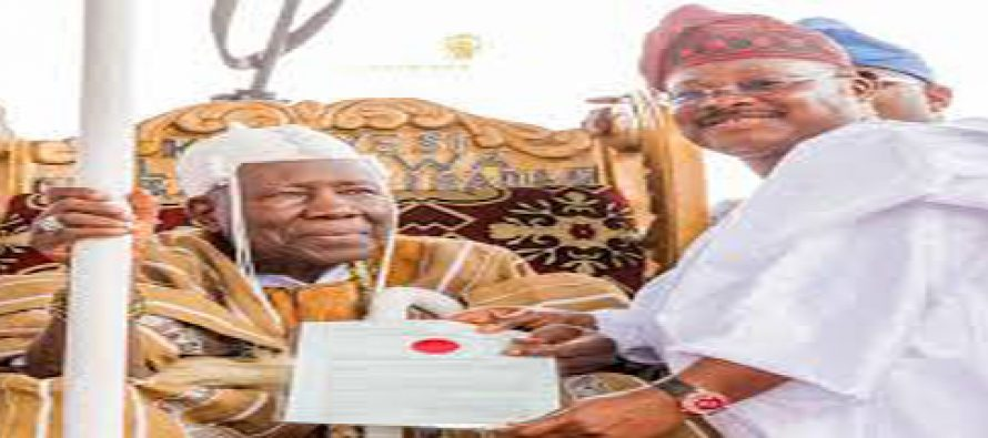 Panel for reviewing of processes of becoming Olubadan inaugurated