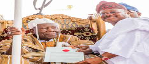 OrijoReporter.com, Panel for reviewing of processes of becoming Olubadan