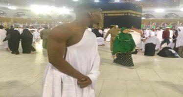 Paul Pogba in Mecca for lesser Hajj
