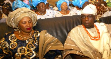 Obasanjo's ex-wife speaks on why she didn't carry out her threat to disrupt son's wedding