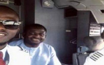 Femi Adesina's pilot son flies dad from Lagos to Abuja
