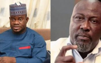 Gov. Bello hits out  at Dino Melaye's parents in veiled attack