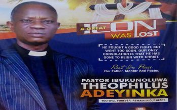 CAC Pastor killed inside church