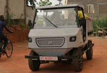 Electric car prototype built for Africa's rural roads