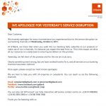 OrijoRepoerter.com, GTBank apologise to customers for service disruption