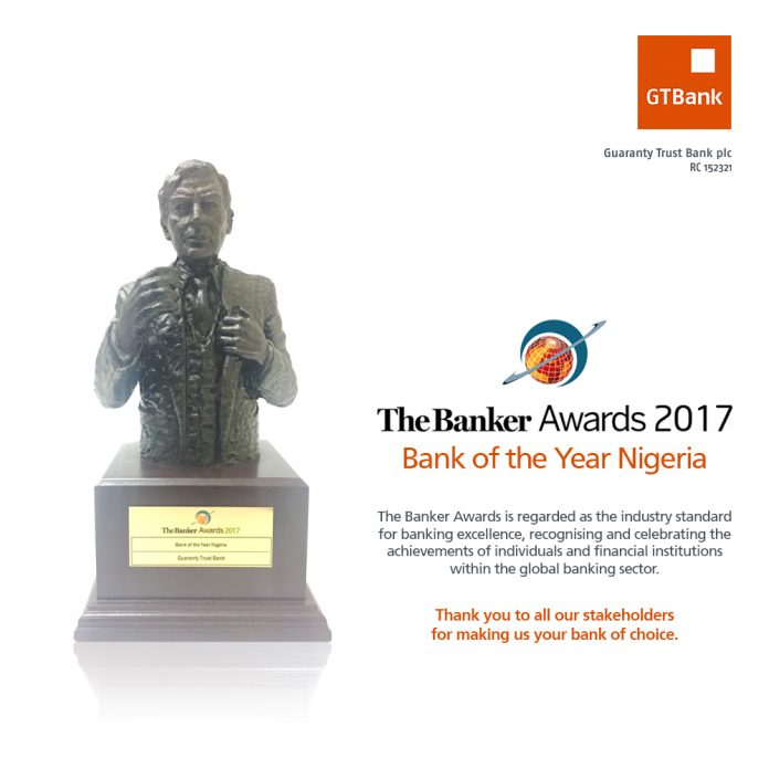 OrijoReporter.com, 2017 Bank of the Year Nigeria