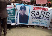 OrijoReporter.com, PRO-SARS PROTEST