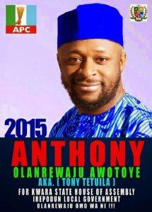 OrijoReporter.com, Anthony Olanrewaju Awotoye