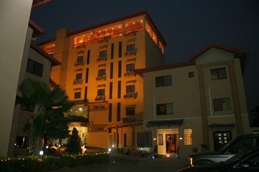 Kanu 39 s hotel put up for sale over alleged bank debt for Former hotel for sale