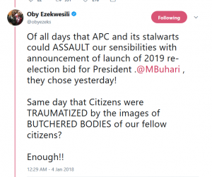 OrijoReporter.com, Oby Ezekwesili