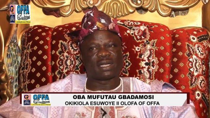 OrijoReporter.com, Oba Mufutau Gbadamosi