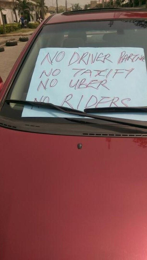 OrijoReporter.com, Taxify drivers