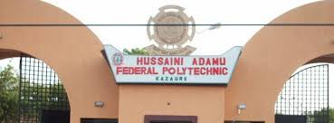 OrijoReporter.com, Hussaini Adamu Federal Polytechnic
