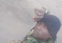 OrijoReporter.com, Lance Corporal Moses Oguche