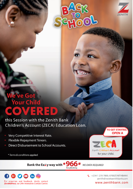 OrijoReporter.com, ZECA Education Loan