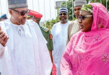 OrijoReporter.com, Buhari Aisha's aides' fight