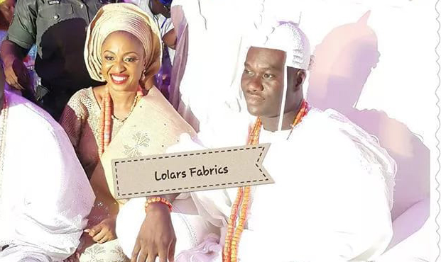 Oba Adeyeye Enitan Ogunwusi and Olori Adebisi Adebukola Ogunwusi