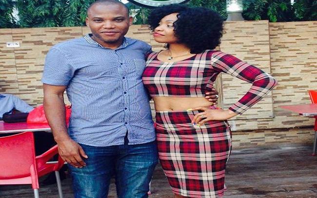 OrijoReporter.com Nnamdi Kanu and his wife